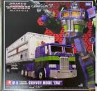 Transformers Masterpiece Mp-10 Convoy Mode Eva Evangelion Figure Toy Anime