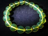 TOP QUALITY DOMINICAN AMBER Bracelet Beads Natural Gem Stone 11.93mm (15 G)D365