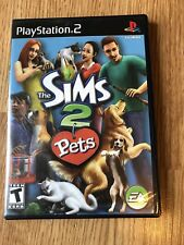 Sims 2: Pets (Sony PlayStation 2, 2006) PS2 Cib Game H2