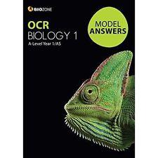 OCR Biology 1 Model Answers a-level yr1/AS 97819270309155