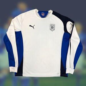 Italy 2013/14 International Soccer Training Sweatshirt XL Puma Futbol Italia