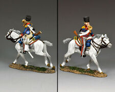 KING & COUNTRY THE AGE OF NAPOLEON NA433 KGL MOUNTED TRUMPETER MIB