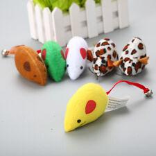 (CT018) Cat Kitten Toy, Plush Mouse Mice Various Designs x 2