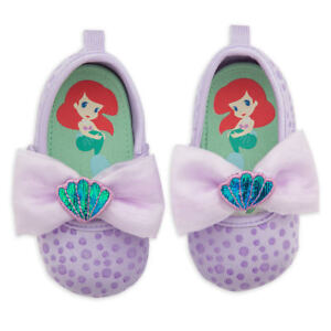 NWT Disney Store Ariel Baby Costume Shoes 0 6 12 18 24M The Little Mermaid