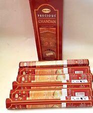 120 palos de incienso de joss preciosos Chandan Dobladillo Perfumado habitación Spa Relax (6 paquetes)