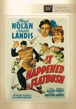 IT HAPPENED AT FLATBUSH (1942 Lloyd Nolan) -  Region Free DVD - Sealed