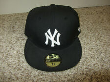 NWT New York Yankees New Era Hat Cap MLB Baseball 7 3/8 Navy Blue NY Pro Fitted