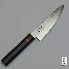 GOUKEN JAPANESE Damascus VG10 Octagon Handle Small Santoku Knife Chefs Knives