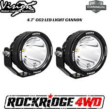 Vision X 4.7″ CG2 LED LIGHT CANNON GEN 2 PAIR W/ HARNESS CG2-CPZ110KIT