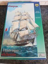 Zvezda 1/200 French Frigate Acheron Ship Excellent Condition