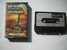 FLIGHT SIMULATION  ZX Spectrum Sinclair ottime condizioni