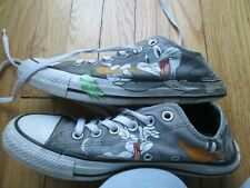 Converse Looney Tunes Chuck Taylor All Star Bugs Bunny Daffy Duck Womens Size 8