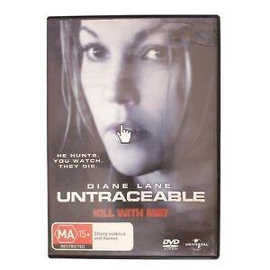 Untraceable Movie DVD Region 4 PAL Free Postage - Horror Thriller