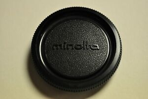 Minolta body cap for the SRTs and X series film SLRs. Original.