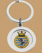 HMCS BEAVER KEY RING (METAL) ROYAL CANADIAN NAVY