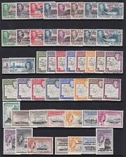 FALKLAND ISLANDS DEPENDENCIES EARLY MINT COLLECTION 48 STAMPS