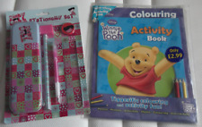 Winnie the Pooh Colouring Book and Dinky Doll Stationery Set