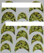 Water French Sticker Nagelsticker gerundet süüß AS-B059