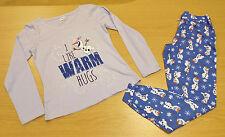 Disney Women's Full Length Long Sleeve Lingerie & Nightwear