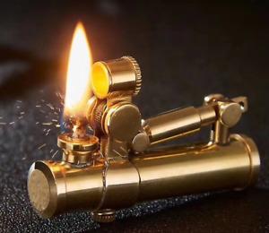 Brass Handmade Custom Windproof Kerosene Lighter