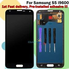 Display Digitizer For Samsung Galaxy S5 i9600 G900F LCD Touch Screen Glass Black