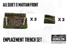 TR009 Artillery Emplacement Set for AQMF, Alien Dungeon, New, Sealed