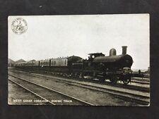 Vintage Postcard LNWR: London NW Railway #156 - West Coast Corridor Dining Train