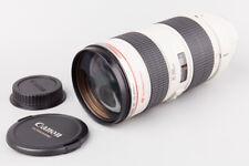 Canon Zoom EF 70-200mm f/2.8 f2.8 L Ultrasonic AF Lens, For Canon EF Mount
