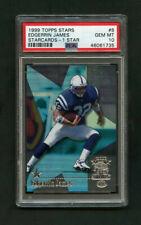 1999 Edgerrin James Topps Stars 1 Star Rookie RC /299 #8 PSA 10 SP Version
