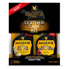 Maddox Detail -Leather Care Kit- Kit de limpieza cuero y piel. Microfibra gratis