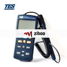 TES-1370 NDIR CO2 Analyzer  Temperature Humidity Meter TES1370