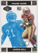 2007 TOPPS CO-SIGNERS GOLD JASON HILL FRANK GORE RC 75/349 #84 PARALLEL
