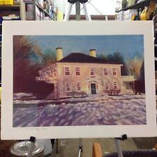 Print - New England Homestead - Signed by Linda Ravella 24/250 1991 17.5 x 23