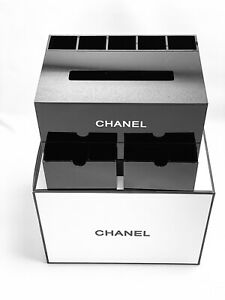 Rare Chanel VIP Gift Organizer / Jewelry box / Tissue & brush holder