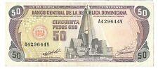 50 pesos 1991 Dominican Republic Pick 135a p República Dominicana