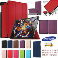 Leather Magnetic Smart Case Cover For Samsung Galaxy Tab A 10.5 SM-T590 SM-T595