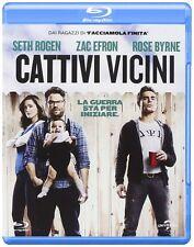 Blu Ray CATTIVI VICINI (2014) *** Rose Byrne,Zac Efron,Seth Rogen ***......NUOVO