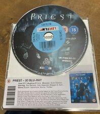 Priest Blu-ray - DISC ONLY (2011) Paul Bettany, Stewart 3d blu ray ex rental