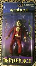 "NECA Cult Classics BEETLEJUICE Red Tuxedo Figure Reel toys NIB 7"" series 1"