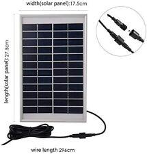 500L/H 5W Solar Water Pump, Square Solar Fountain Pump for garden Decoration