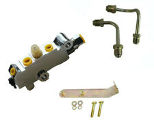 GM Proportioning Valve Kit Brake Lines Mounting Bracket Disc/Drum Chrome PV2