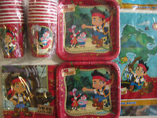 JAKE & THE NEVER LAND PIRATES Disney  Birthday Party Supply Kit Pack for 16