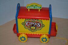 Vintage Sesame Street Circus Set - #PW