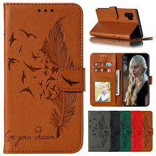 For Samsung S20 FE Note 20 Ultra 10 9 S10 S9 Plus Case Leather Flip Wallet Cover
