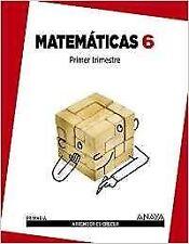 Matemáticas 6.. NUEVO. Envío URGENTE. LIBRO DE TEXTO (IMOSVER)