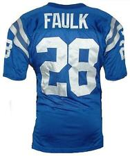 NFL AUTHENTIC INDIANAPOLIS INDY COLTS VTG MARSHALL FAULK JERSEY L 44 VINTAGE