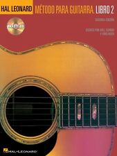 Hal Leonard Metodo Para Guitarra Libro 2 - Spanish Edition Book CD Pac 000697367