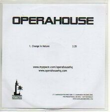 (639D) Operahouse, Change in Nature - DJ CD