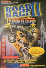ROAD RAGE II In SPEED WE TRUST Cycle Stunts Too Sick for the Streets SEALED DVD