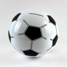 """Nouveau 10"""" Blow Gonflable Ballon Football De Nouveauté Plage Soccer Jouet"""